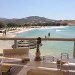 Parasparos Beach, nahe dem Hotel