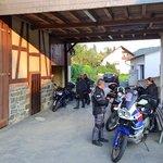 Motorradgaragen und Stellplätze