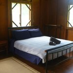 Bed in cabin #1