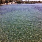 transparence de l'eau