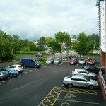parking de l'hôtel