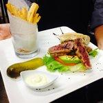 """The """"Tim"""" Seared Tuna burger"""