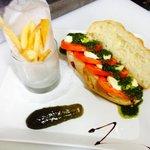 "The ""Titaa"" Caprese sandwich"