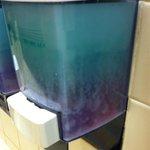 Soap dispenser!  Yuck!   - Aug 2014