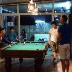 Boys Pool Night at Chico's