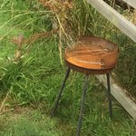 The rusty barbecue