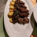 arrosto di maiale cn patate e funghi