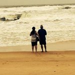 Baga beach is just 5 mins walk away