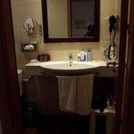 il bagno della stanza 305