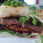 The Gorgeous, Melt in the Mouth Steak Sandwich