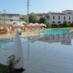 Granada Palace outside pools