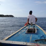 heading over to Gili Trawangan
