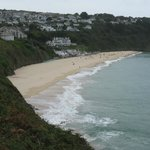 Approaching Carbis Bay on the South West Coast Path