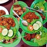 Variety jamur dishes