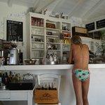 Ordering Cold Drinks Bar Poolside Villa Ippocampi