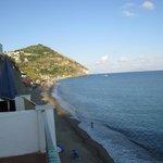 Vista camera sulla spiaggia dei Maronti