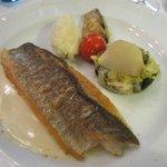Hoofdgerecht : vis zonder smaak