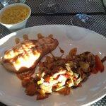 Cœur de saumon et son wok