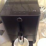 Coffe machine with coffee beans