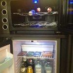Wine chiller and mini refrigerator