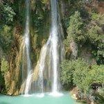 cascade de Sillans la cascade   à voir absolument