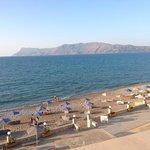 Mare e spiaggia vista camera
