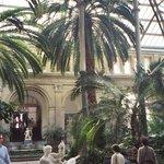 Atrium in the Glyptotek