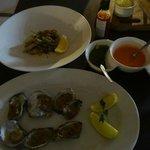 Oysters and Calamari...