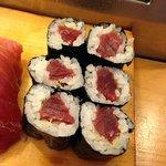 Very normal, average tuna maki.