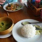 L'un des délicieux plats thai proposés au restaurant