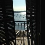 Aussicht aus dem Frontfenster