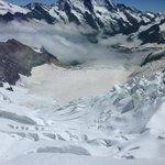 Amazing glacier view