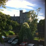 Kilkenny Castle from hotel bedroom