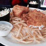 Yummy fish and chips that just melt in your mouth!