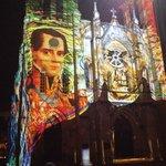 Laser show on Church mins away