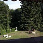 Il giardino visto dalla terrazza
