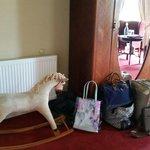 Full of character.  Yeats Room @ Ballyseede Castle