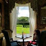 Beautiful tea room @ Ballyseede Castle