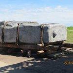 ストーンヘンジに使われた石の大きさ
