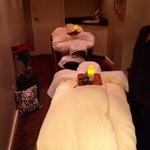 The BEAUTIFUL couples massage room