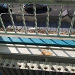 vue du balcon 2ème étage