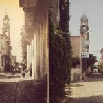 View from Aliki as it was and is..