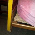 Matratze auf Holzpalette