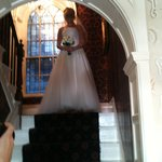Great Staircase for Bridal Photo shoot