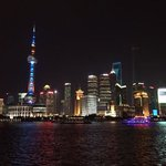 pudong by night, eind juli 2014