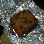 Bev's homemade fruit cake!