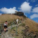 Hike up to Pigeon Island