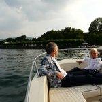 boat trip on Lago di Como with Federico
