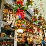 Fresh vegetable, fish and deli Shop