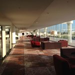 Sheraton Malpensa lounge area